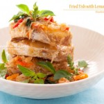 Dentice, erbe aromatiche e spezie - guest post - Fried fish with Lemon Basil
