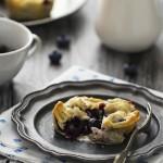 Mini pie ai mirtilli - Mini blueberry pies