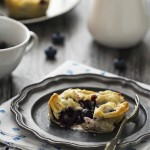 Mini pie ai mirtilli - Mini blueberry pies