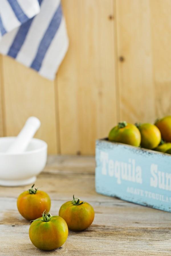 Focaccia con pomodori sardi