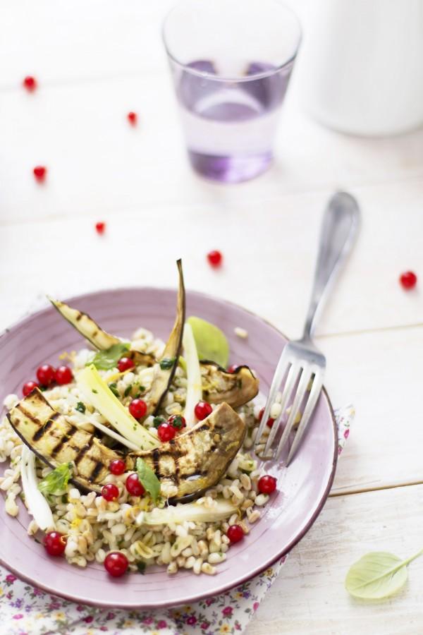 insalata cereali verdure