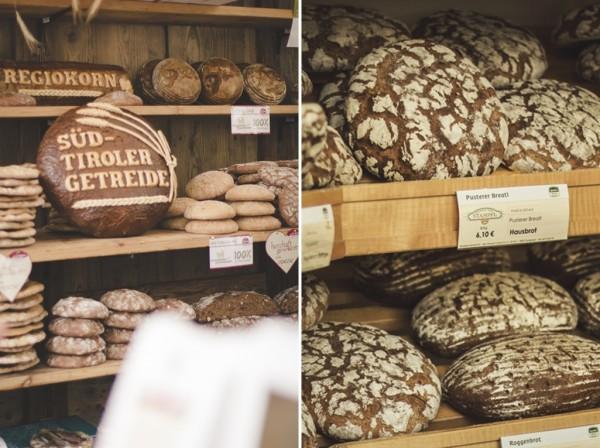 Bressanone - Brixen - Valle Isarco - mercato del pane e dello strudel
