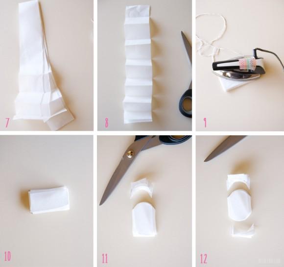 ghirlanda di carta - DIY - tutorial
