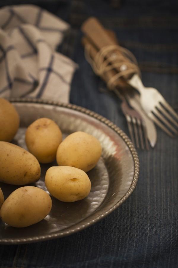 frittelle di patate crauti e speck