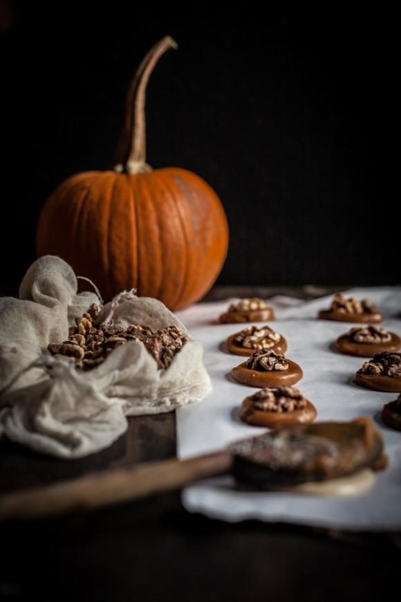 Cioccolatini al caramello salato