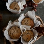 muffin castagne e cioccolato guest post - Chestnut muffins with chocolate