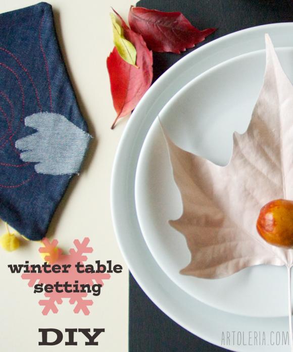 tavola - Autunno - DIY - table decoration