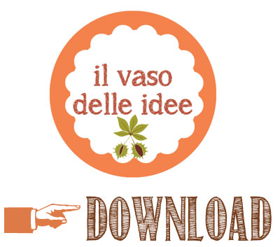 Vaso delle idee - Free printable