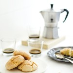 amaretti Sardi - Italian recipe Sardinian Amaretti cookies