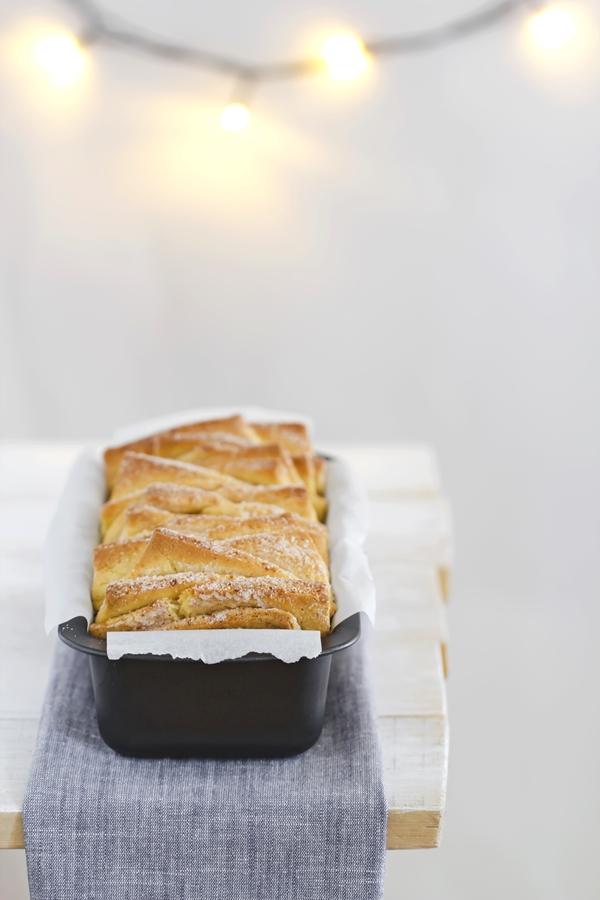 pane alla cannella - cinnamon pull apart bread