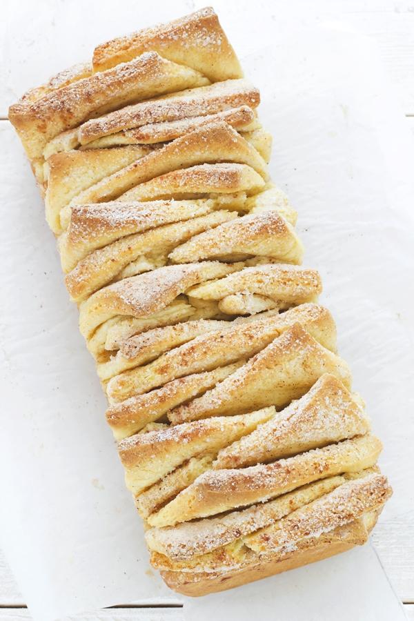 Pane dolce alla cannella, Ricetta pane dolce alla cannella facile e veloce, Cinnamon pull-apart bread recipe, How to make cinnamon bread, Cinnamon sugar pull-apart bread, Cinnamon pull-apart bread recipe, Pull-apart bread recipe