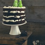Torta a piani al cioccolato e menta con After Eight - Chocolate mint layer Cake with AfterEight