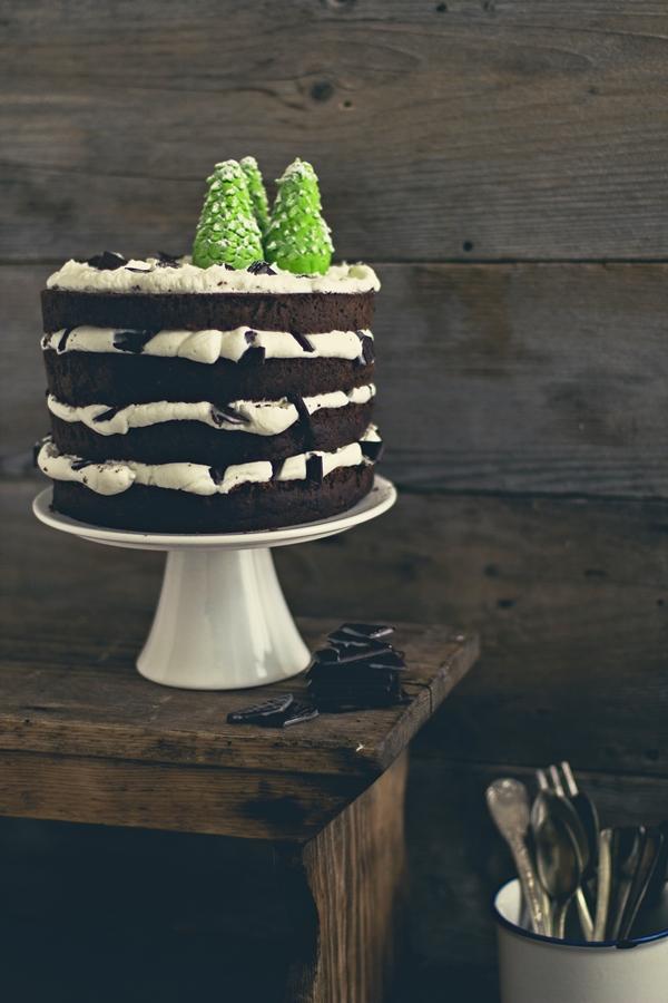 torta cioccolato e menta - calendario avvento