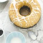 Polish poppy seeds roll cake