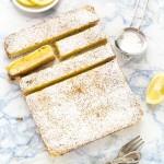 barrette al limone e rosmarino - rosemary lemon bars
