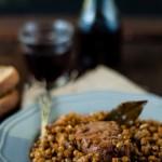 Stufato di maiale con lenticchie [Guest post]