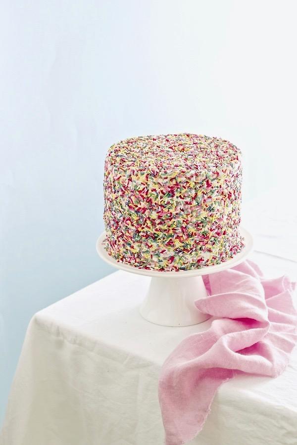 Carnival cake - Carnival sprinkle cake - Torta di Carnevale - food photography - opsd blog - sonia monagheddu