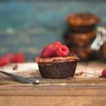 Cheesecake al cioccolato e lamponi - Chocolate Raspberry Cheesecakes Guest Post
