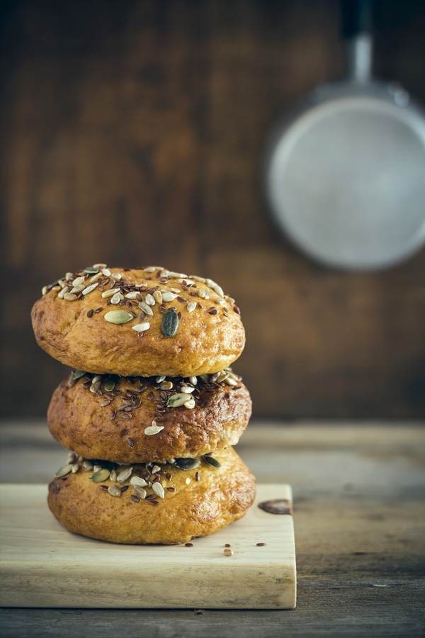 bagels, bagel, come fare i bagels, ricetta bagels, bagels fatti in casa, ciambelle di pane, bagels recipe, how to make bagels, homemade bagels recipe, New York-style bagel,
