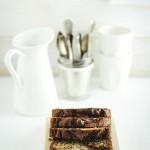 plumcake alla Nutella e banane - banana nutella bread