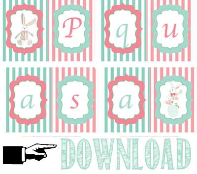 Free printable Pasqua - Easter free printable