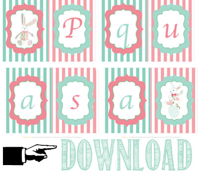 Free printable Pasqua - Easter free printable