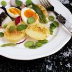 Insalata di patate novelle e fave fresche - Potatoes salad with fresh broad beans guest post recipe