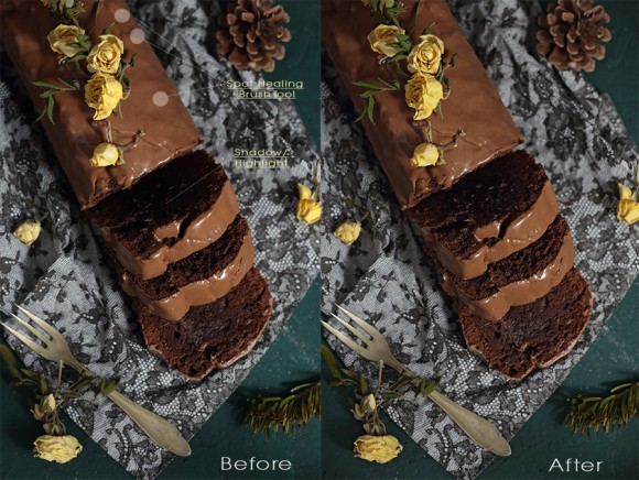 Dietro le quinte di un food blog - How to - Tutorial - Food photography - Behind the scenes -