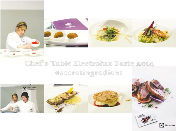 #secretingredient - Chef's Table Electrolux - Taste of Milano 2014 - Nadia Moscardi - Elodia