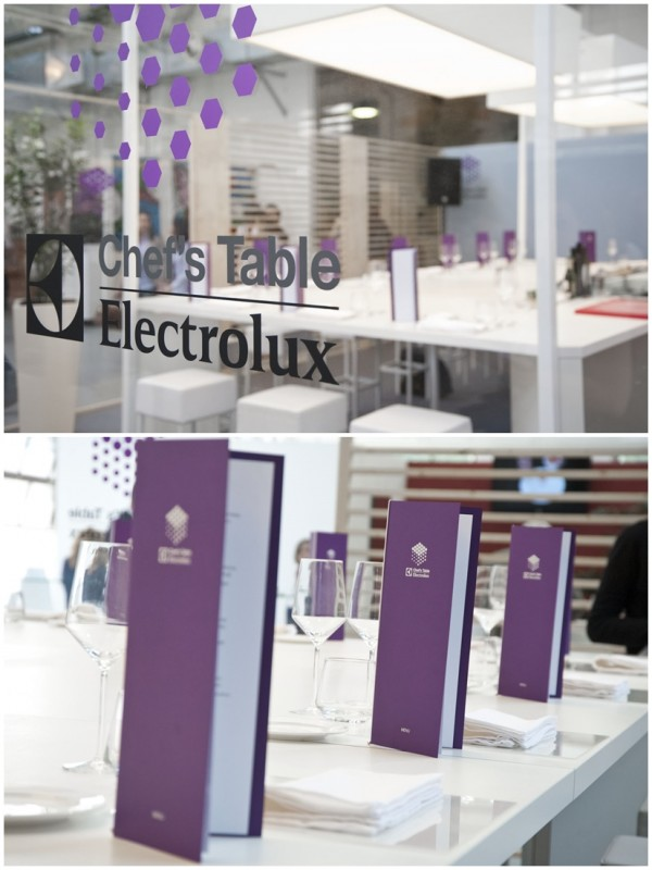 #secretingredient - Chef's Table Electrolux - Taste of Milano 2014