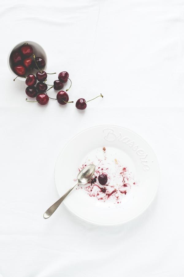 pie di ciliegie - cherry pie - ricetta torta di ciliegie