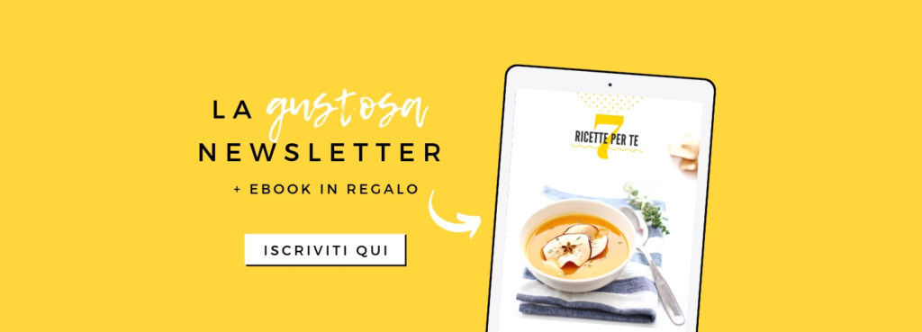 OPSD newsletter, iscriviti alla OPSD Newsletter, in regalo un gustoso eBook di ricette inedite