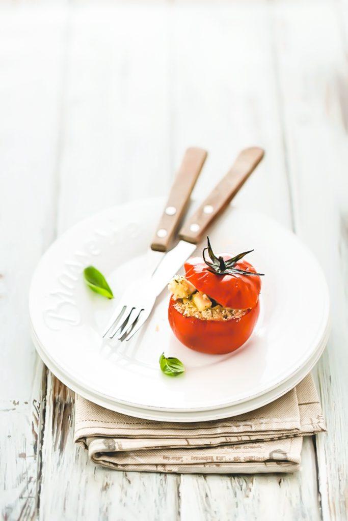Pomodori ripieni con Parmigiano Reggiano e tofu, Ricetta pomodori ripieni, Come cucinare i pomodori ripieni, Stuffed tomatoes with Parmigiano and tofu, Italian stuffed tomatoes, Baked stuffed tomatoes with Tofu, Vegetarian Stuffed Tomatoes Recipe, Tofu Stuffed Tomatoes recipe