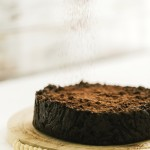 Torta di pane al cacao e cioccolato - Chocolate and cocoa bread pudding cake
