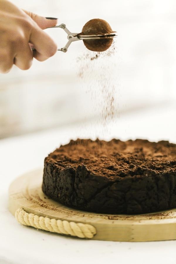 torta di pane, ricetta torta di pane al cacao, torta al cacao, torta al cioccolato, chocolate and cocoa bread pudding cake