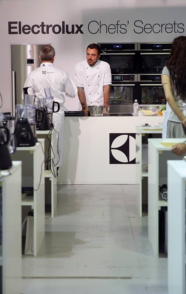 chef rubio - Taste of Roma - Electrolux - #secretingredient - chef