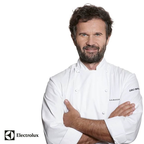 carlo cracco - Taste of Roma - Electrolux - #secretingredient - chef