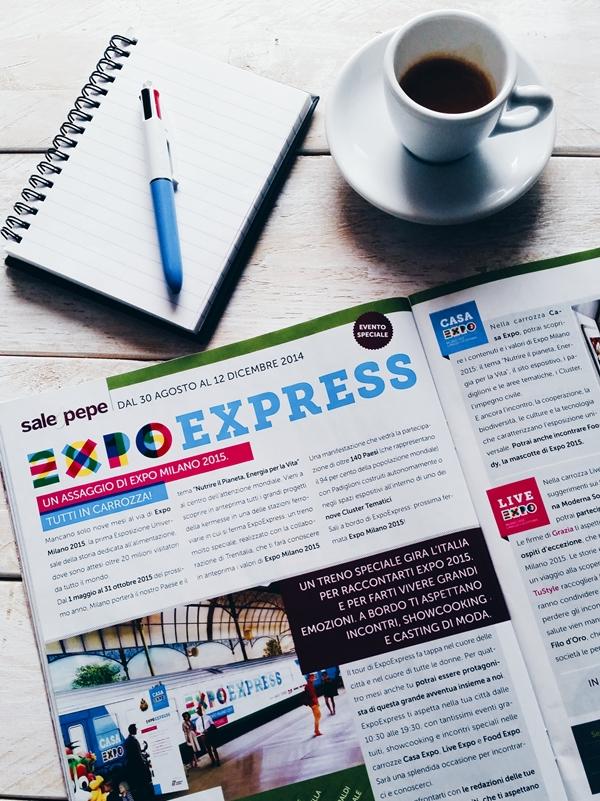 ExpoExpress - Expo - #unaricettaperlavita - we woman for expo
