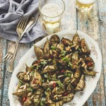 Baby melanzane in agrodolce - Sweet and sour baby eggplants recipe
