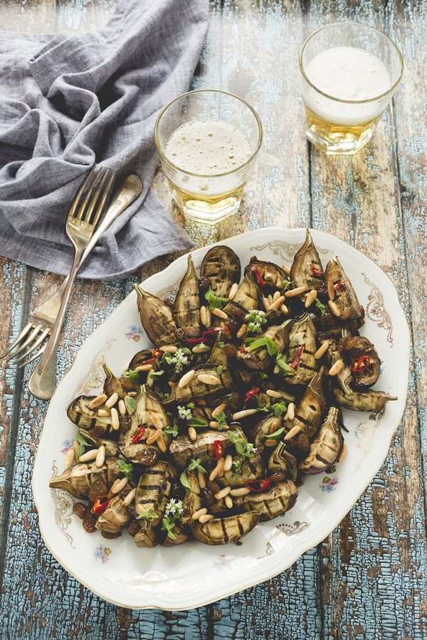 ricetta baby melanzane - baby eggplants recipe