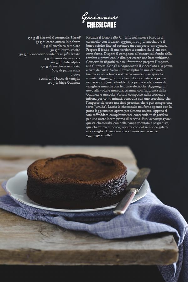 Guinness cheesecake al cioccolato - Cheesecake alla Guinness - Guinness chocolate cheesecake