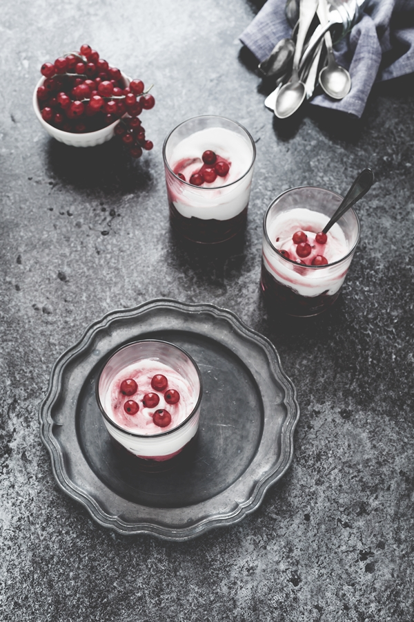 mousse al ribes - mousse al ribes con marshmallows - marshmallows red currant mousse - red currant mousse