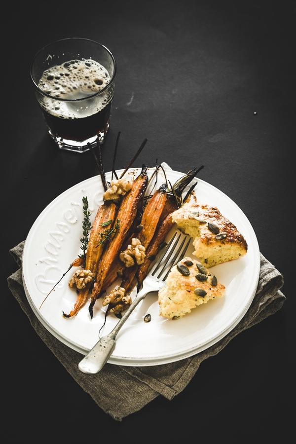 carote al forno - carote in agrodolce - honey roasted carrots - honey roasted carrots recipe
