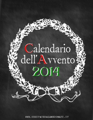 Calendario Avvento 2014 - 2014 Advent calendar