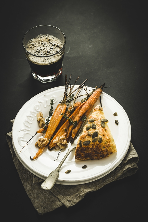 carote al forno - scones alla zucca - carote in agrodolce - honey roasted carrots - honey roasted carrots recipe - pumpkin scones