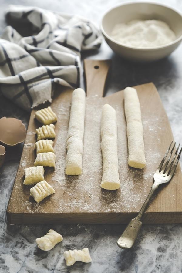 gnocchi di cavolfiore, ricetta gnocchi di cavolfiore, ricetta vegetariana, come fare gnocchi di cavolfiore, cauliflower gnocchi recipe, vegetarian recipe, how to make cauliflower gnocchi