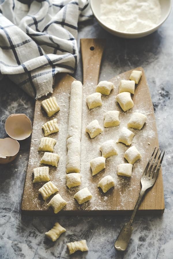 gnocchi di cavolfiore - cauliflower gnocchi