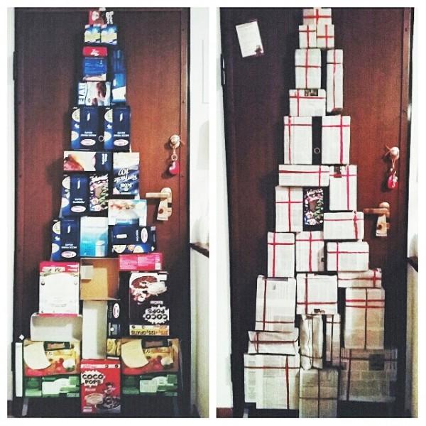 albero di natale - diy - albero di natale riciclato - diy christmas tree