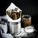 Bastoncini fritti di farina di castagne - Chopsticks chestnut flour fritters