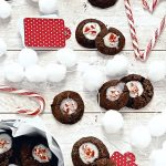 Thumbprint cookies ai due cioccolati